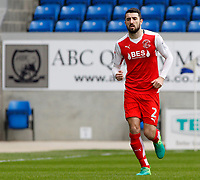 Fleetwood Town's Conor McLaughlin in action<br /> <br /> Photographer David Shipman/CameraSport<br /> <br /> The EFL Sky Bet League One - Peterborough United v Fleetwood Town - Friday 14th April 2016 - ABAX Stadium  - Peterborough<br /> <br /> World Copyright &copy; 2017 CameraSport. All rights reserved. 43 Linden Ave. Countesthorpe. Leicester. England. LE8 5PG - Tel: +44 (0) 116 277 4147 - admin@camerasport.com - www.camerasport.com