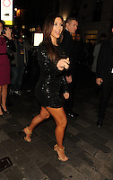 November 9th, 2012 - London..Kim Kardashian leaving the Aqua Club.<br />