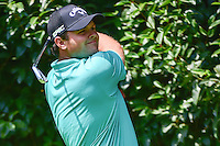 Patrick Reed (USA) watches his tee shot on 2 during round 1 of the World Golf Championships, Mexico, Club De Golf Chapultepec, Mexico City, Mexico. 3/2/2017.<br /> Picture: Golffile | Ken Murray<br /> <br /> <br /> All photo usage must carry mandatory copyright credit (&copy; Golffile | Ken Murray)
