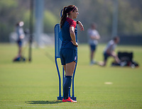 Tampa, FL - February 19, 2019: The USWNT trains prior to the SheBelieves Cup.
