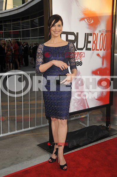Michelle Forbes at HBO's 'True Blood' Season 5 Los Angeles premiere at ArcLight Cinemas Cinerama Dome on May 30, 2012 in Hollywood, California. © mpi35/MediaPunch Inc.