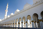 Abu Dhabi, United Arab Emirates (UAE)..February 3rd 2009..The Sheikh Zayed Mosque in construction