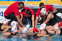 BEGIN Johanne coach CAN <br /> CANADA vs SPAIN<br /> Waterpolo - Women's preliminary Round Group C<br /> Day 07 30/07/2015<br /> XVI FINA World Championships Aquatics Swimming<br /> Kazan Tatarstan RUS July 24 - Aug. 9 2015 <br /> Photo Giorgio Perottino/Deepbluemedia/Insidefoto