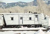 Right-side view of D&amp;RGW rotary snowplow #OY at Chama.<br /> C&amp;TS  Chama, NM