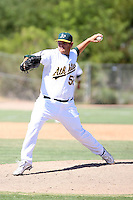 Max Peterson - Oakland Athletics - 2010 Instructional League.Photo by:  Bill Mitchell/Four Seam Images..