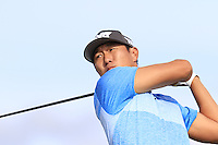 James Hahn (USA) tees off the 15th tee during Thursday's Round 1 of the 145th Open Championship held at Royal Troon Golf Club, Troon, Ayreshire, Scotland. 14th July 2016.<br /> Picture: Eoin Clarke | Golffile<br /> <br /> <br /> All photos usage must carry mandatory copyright credit (&copy; Golffile | Eoin Clarke)