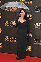 Lesley Joseph at the Olivier Awards 2018, Royal Albert Hall, Kensington Gore, London, England, UK, on Sunday 08 April 2018.<br /> CAP/CAN<br /> &copy;CAN/Capital Pictures<br /> CAP/CAN<br /> &copy;CAN/Capital Pictures