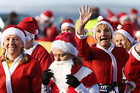 2017 12 16 Santa Run, Aberavon beach, Wales, UK