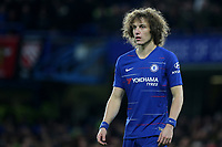 David Luiz of Chelsea during Chelsea vs Manchester United, Emirates FA Cup Football at Stamford Bridge on 18th February 2019
