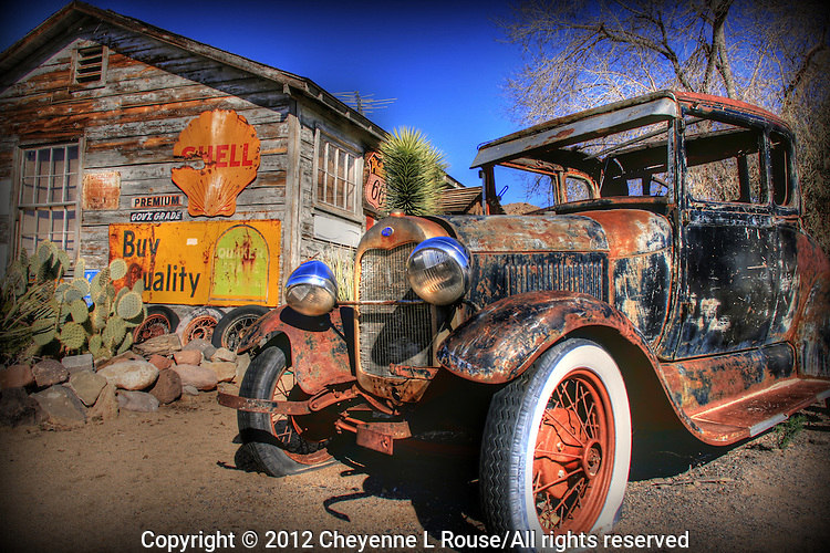 Hackberry Ford - Route 66 Arizona