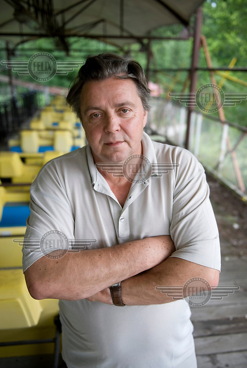 Norbert Witte, former owner of Spreepark, an amusement park in Treptow-Koepenick in the former GDR. Formerly known as the Cultural Park Paenterwald, Spreepark was the only permanent entertainment park in East Germany. After the reunification of Germany, it became the only entertainment park in Berlin, up until its insolvency and closure in 2001. ..
