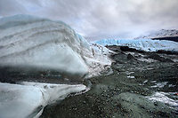 Matanuska Glacier, Alaska.