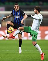 Matias Vecino-Manuel Locatelli<br /> Milano 19-1-2019 Giuseppe Meazza stadium Football Serie A 2018/2019 Inter - Sassuolo <br /> Foto Image Sport / Insidefoto