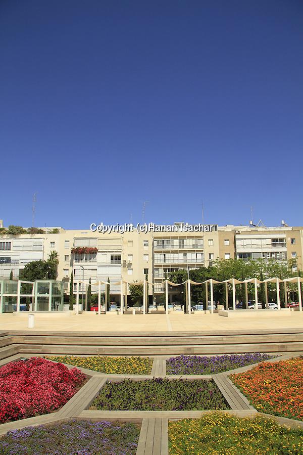 Israel, Habima Square in Tel Aviv