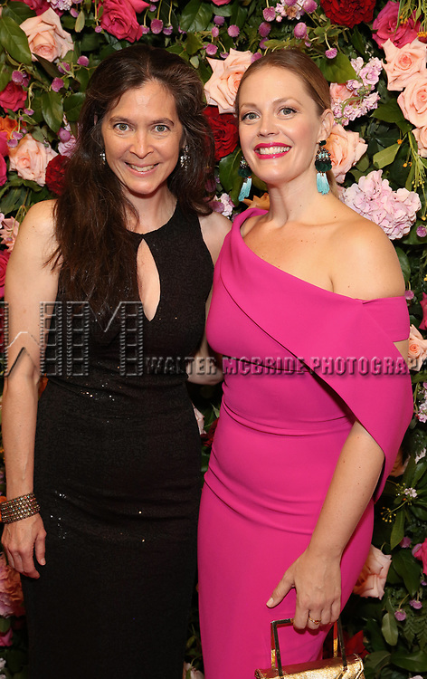 Diane Paulus and Elizabeth Stanley attends The American Theatre Wing's 2019 Gala at Cipriani 42nd Street on September 16, 2019 in New York City.