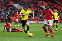 John Mousinho of Oxford United in action during Charlton Athletic vs Oxford United, Sky Bet EFL League 1 Football at The Valley on 3rd February 2018