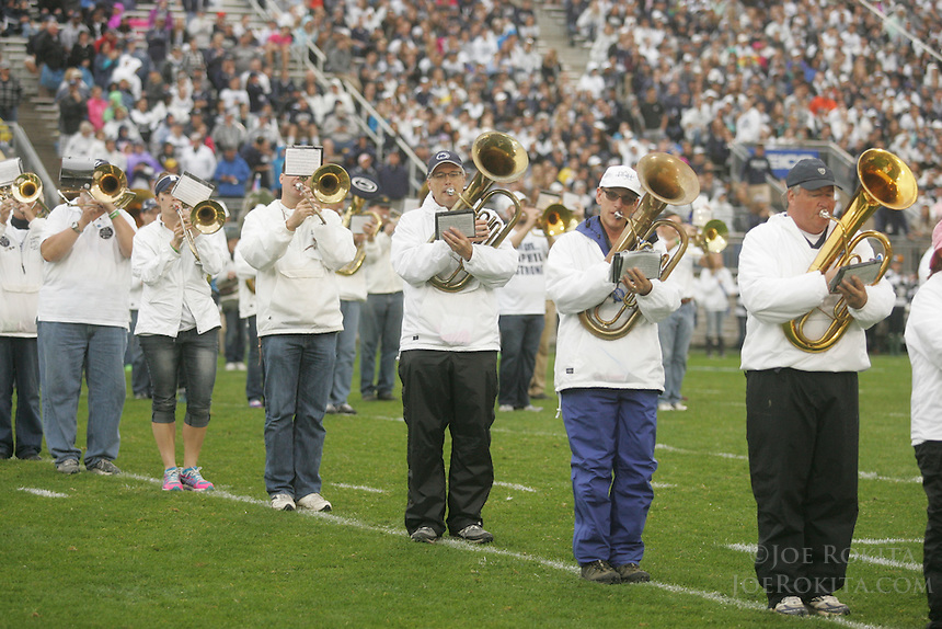 State College, PA - 10/08/2016:  Penn State defeated Maryland by a score of 38-14 on Saturday, October 8, 2016, Homecoming, at Beaver Stadium. <br /> <br /> Photos by Joe Rokita / JoeRokita.com