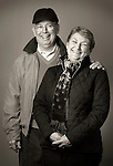Portrait. Dave and Mary Ambrose- husband and wife.