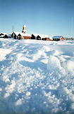 SWEDEN, Swedish Lapland, Bjorkliden, Village in the Snow