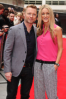 "Ronan Keating and Storm Uechtritz arrives for the ""Postman Pat"" premiere at the Odeon West End, Leicester Square, London. 11/05/2014 Picture by: Steve Vas / Featureflash"