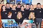 ART CLASS: Stella Loughnane, new vice-principal at Killarney Community College with some of her art students on Wednesday. Front l-r: Phil Taylor, Stella Loughnane and Sandra Jurand. Back l-r: Karen Lucey, Paul O'Riordan, Jennifer O'Keeffe, Kieran Culloty, Louise Fleming, John Mangan, Fidelma Cremin and Rory Sugrue.   Copyright Kerry's Eye 2008