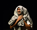 "Edinburgh, UK. 31.07.2017. Parallax Theatre pesents ""The Last Days of Judas Iscariot"", in the Pleasance Beyond, as part of Edinburgh Festival Fringe. Picture shows: Moses Latif (Yusef El-Fayoumy). Photograph © Jane Hobson."