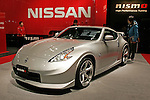 Jan 15, 2010 - Chiba, Japan - A Nissan Fairlaydy Z Version Nismo is displayed during the Tokyo Auto Salon 2010 in Chiba, suburb Tokyo, on January 15, 2010. More than 400 companies, associations and groups are displaying more than 600 custom vehicules in the Japan's biggest tuning show which takes place between January 15 and 17. (Photo Laurent Benchana/Nippon News)