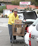 ..April 29th 2012      Sunday ...Nick Nolte shopping in a yellow shirt for food at Pavilion s market in Malibu California ...AbilityFilms@yahoo.com.805-427-3519.www.AbilityFilms.com
