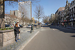 BRUSSELS - BELGIUM - 27 March 2020 --  COVID-19 lockdown. — Empty Place Louise. — PHOTO: Juha ROININEN / EUP-IMAGES