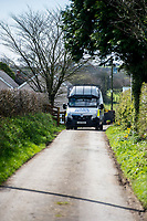Friday 24 March 2017<br /> Pictured: Views of the  property in Carmarthenshire  <br /> Re: Police Search a property near Trelech, Carmarthenshire where the mother of London terrorist Khalid Masood, 52, Janet Ajao lives.  He was also known as Adrian Russell Ajao and Adrian Elms.