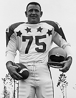 Tommy Joe Coffey 1970 Canadian Football League Allstar team. Copyright photograph Ted Grant