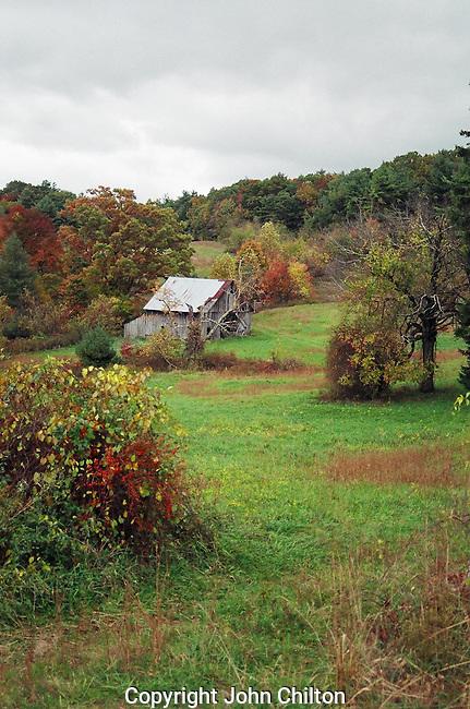 Photo of Barn on Blue Ridge Parkway, Virginia