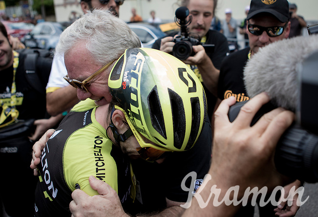 Simon Yates (GBR/Mitchelton-Scott) wins stage 12<br /> <br /> Stage 12: Toulouse to Bagnères-de-Bigorre (202km)<br /> 106th Tour de France 2019 (2.UWT)<br /> <br /> ©kramon