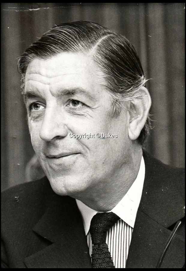 BNPS.co.uk (01202 558833)<br /> Pic: Dukes/BNPS<br /> <br /> Sir Edward du Cann, one of the most influential public figures in Britain during the second half of the 20th century.<br /> <br /> The collection of an influential politician who helped bring Thatcher to power is going under the hammer and expected to fetch more than £86,000.<br /> <br /> More than 100 items owned by the late Sir Edward du Cann, including a rare maquette of Winston Churchill worth £50,000, have been put up for sale by his family with Duke's of Dorchester in Dorset following his death last year.<br /> <br /> Sir Edward was an MP for 31 years and the longest serving chairman of the powerful 1922 committee, where he was instrumental in bringing Margaret Thatcher to power in 1979, and his name was never far from the front pages of the national newspapers in the 1960s and 70s.<br /> <br /> Among the items being sold are several bronze sculptures of Prime Ministers Winston Churchill, Margaret Thatcher and Clement Atlee.<br /> <br /> The collection will be sold in the Dorchester saleroom on September 6.