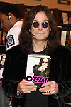 """OZZY OSBOURNE. The singer signs copies of his new book, """"I Am Ozzy,"""" at Barnes & Noble. Huntington Beach, CA, USA. February 3, 2010."""