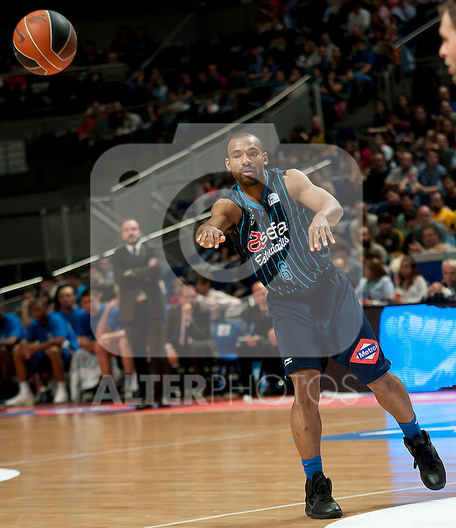 Asefa Estudiantes' Willie Deane during Liga Endesa ACB match.April 1,2012. (ALTERPHOTOS/Ricky)