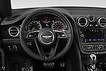 Car pictures of steering wheel view of a 2019 Bentley Bentayga 4wd 5 Door SUV Steering Wheel