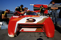 DAYTONA BEACH, FL - JANUARY 31: Bobby Rahal sits behind the wheel of the March 82G 1/Chevrolet during practice for the 24 Hours of Daytona on January 31, 1982, at Daytona International Speedway in Daytona Beach, Florida.
