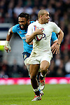 England's Jonathan Joseph scoring his 2nd try of the match - RBS 6 Nations - England vs Italy - Twickenham Stadium - London - 14/02/2015 - Pic Charlie Forgham-Bailey/Sportimage