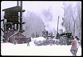 48? By ash pit at Chama. Coaling tower to left. Many people standing about.<br /> D&amp;RGW  Chama, NM