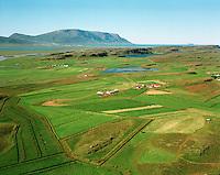 Hamar og Keta séð til norðvesturs, RÌpurhreppur / Hamar and Keta viewing northwest.