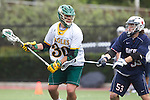 Orange, CA 05/16/15 - Chase Matranga (Concordia #30) and Jeremy Matelan (Dayton #53) in action during the 2015 MCLA Division II Championship game between Dayton and Concordia, at Chapman University in Orange, California.