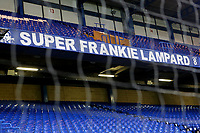 Super Frankie Lampard banner on display in the Matthew Harding Stand during Chelsea vs Derby County, Caraboa Cup Football at Stamford Bridge on 31st October 2018