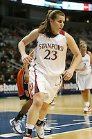 8 March 2008: Stanford Cardinal Jeanette Pohlen during Stanford's 64-41 win against the Oregon State Beavers in the 2008 State Farm Pac-10 Women's Basketball tournament at HP Pavilion in San Jose, CA.