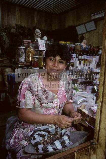 Amérique/Amérique du Sud/Pérou/Lima/Chiclayo : Le marché aux sorciers