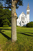 First Congregational Church... Located in Georgetown, Massachusetts USA , which is in  scenic New England.