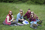 Jessica, Niall, Leanne and Alice at Slane Concert 2011..(Photo credit should read Jenny Matthews www.newsfile.ie)....This Picture has been sent you under the conditions enclosed by:.Newsfile Ltd..The Studio,.Millmount Abbey,.Drogheda,.Co Meath..Ireland..Tel: +353(0)41-9871240.Fax: +353(0)41-9871260.GSM: +353(0)86-2500958.email: pictures@newsfile.ie.www.newsfile.ie.