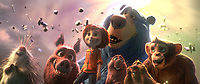 Wonder Park (2019)<br /> (L-R, front row)  Steve, Greta, June, Cooper, Gus, Peanut, (back row) Boomer <br /> *Filmstill - Editorial Use Only*<br /> CAP/MFS<br /> Image supplied by Capital Pictures