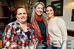 Cathy Moriarty, Norma Farmer Moriarty and Catherine Daly enjoying the evening in Cassidys on Friday