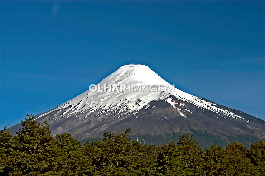 Vulcão Osorno. Chile. 2004. Foto de Maristela Colucci.